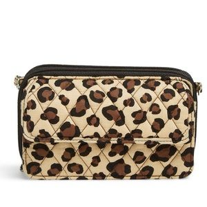 Vera Bradley Leopard Print All in One Wristlet